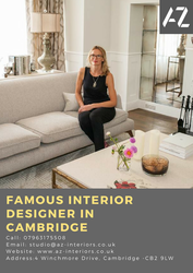 Famous interior designer in Cambridge